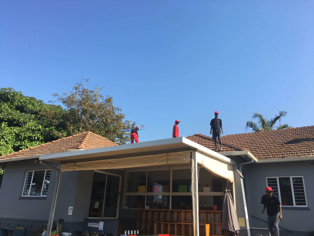 Kzn Roof Rooms Amp Structures Durban North Pre School Project